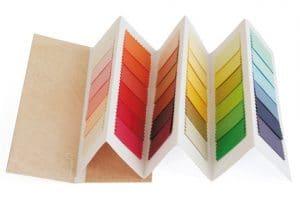 kleurenwaaier lente folder model