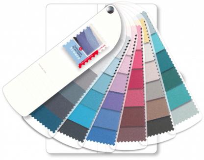 kleurenwaaier zomer stof luxe