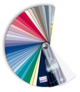 kleurenwaaier dominanties licht koel