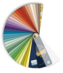 kleurenwaaier dominanties warm licht