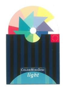 kleurendisc licht