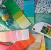 kleurenwaaier lente stof luxe