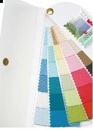 kleurenwaaier lentezomer stof luxe