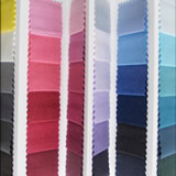kleurenwaaier stof folder zomer