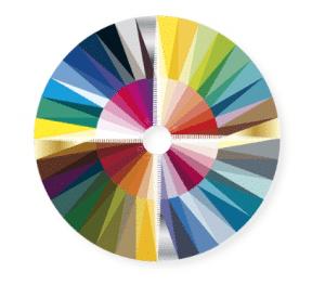 kleurendisc 4 seizoenen